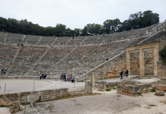 Античный театр Эпидавр