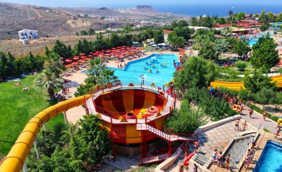 Аквапарк Watercity на Крите