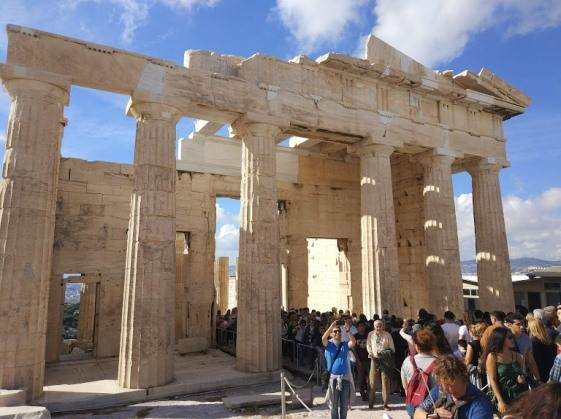 День Охи на Акрополе