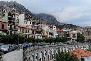 Арахова - наиболее известный зимний курорт Греции