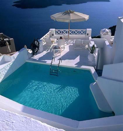 Гостиница на Санторини