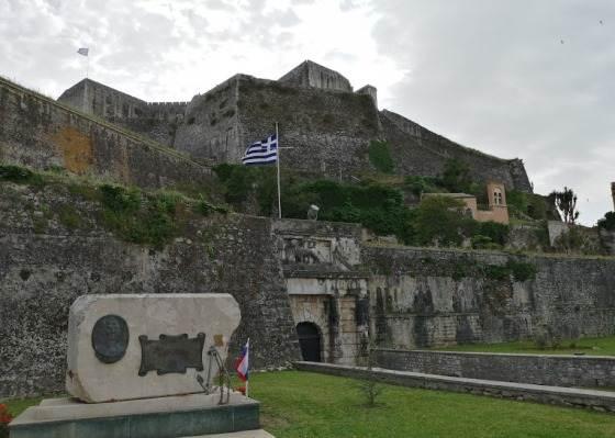 Новая крепость Корфу