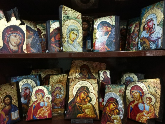 Иконы на Родосе и на Крите