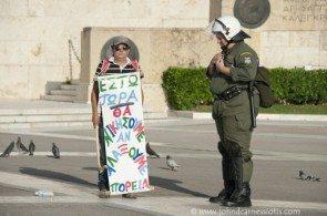 Свободолюбие современные греки любят выражать особым способом