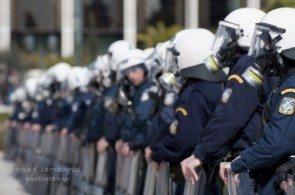 День Политехнио всегда сложен для греческих полицейских