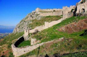 Цитадель Акрокоринф считалась одной из лучших в Греции