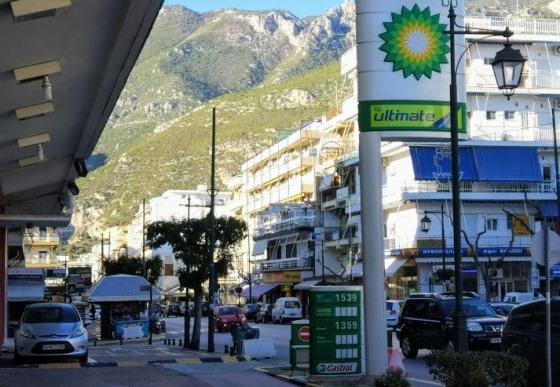 Бензин в Греции стоит недешево