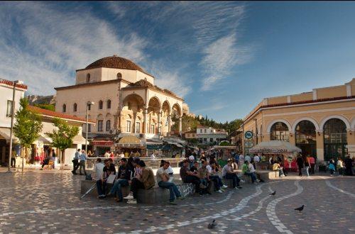 Кебаб у Танассиса - точка, просто необходимо посетить в Афинах