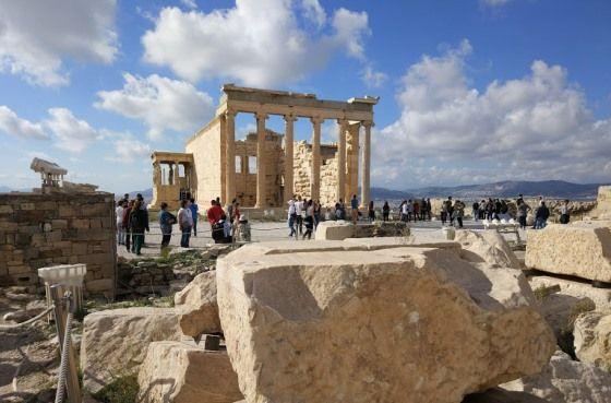Афины осенью