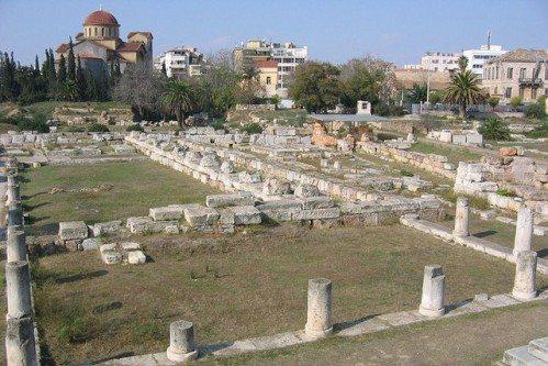 Античные достопримечательности Афин