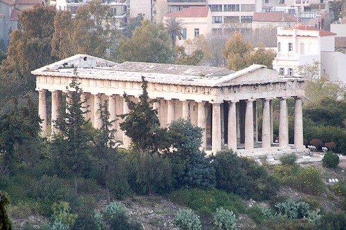 Гефестейон –одна из самых старых достопримечательностей Афин