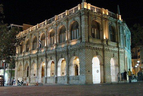 Венецианская ложа в Ираклионе
