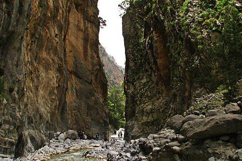 Экскурсия в ущелье Самария