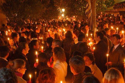 Пасхf в Греции - один из самых важных праздников в году