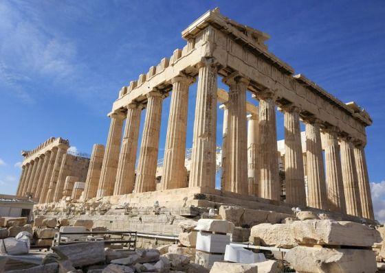 Парфенон - храм богини Афины