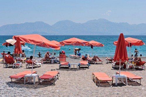 Пляжи Агиоса Николаоса на Крите