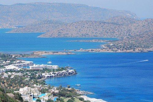 Агиос Николаос на Крите: вид с высоты птичьего полета