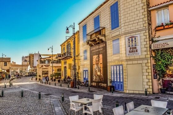 Город Ларнака на Кипре