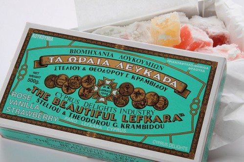 Сувениры с Кипра, фото, Кипрские сладости, Лефкара, Кипр