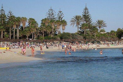 Температура воздуха на Кипре в июле