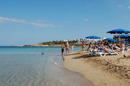 Температура воздуха на Кипре в августе