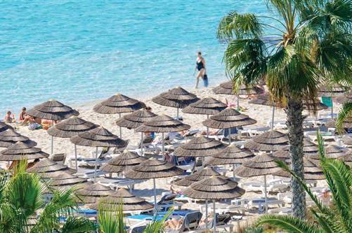 Один из лучших отелей Кипра - Nissi Beach