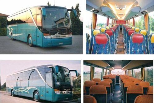 Из Салоник до Халкидики: фото автобуса внутри и снаружи