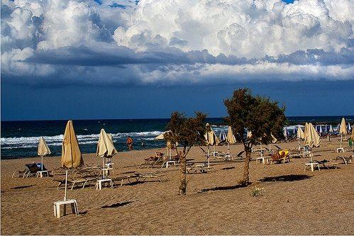 Пляжи Аниссараса считаются одними из лучших на Крите