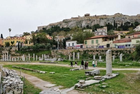 Римская агора, Афины
