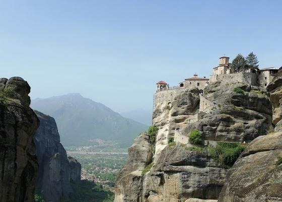 Монастыри Метеоры и скальный массив
