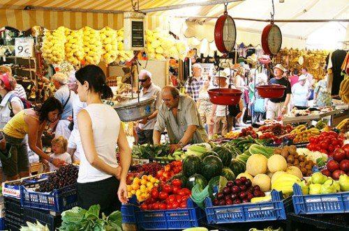 Рынки на Крите, фото, уличный шоппинг, Ираклион, Крит, Греция