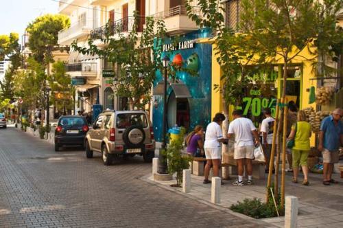 Шоппинг на Крите, фото, Распродажи, Агиос Николаос, Крит, Греция
