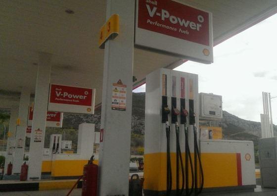 Цены на бензин на Родосе