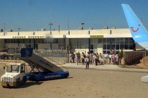 Терминал аэропорта Араксос на Пелопоннесе