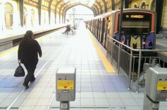 Станция метро в Пирее