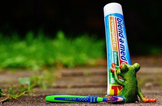 Зубная паста на Кипре