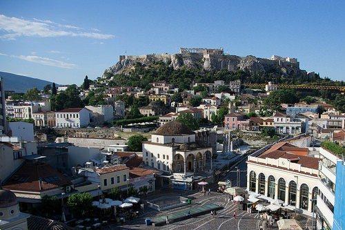 Афины всегда поражали своей красотой