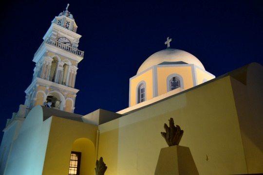 Кафедральный Собор Санторини