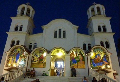 Церковь в Паралия Катерини