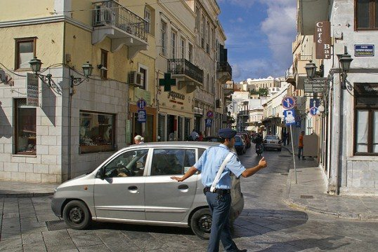Превышение скорости в греции без штрафа