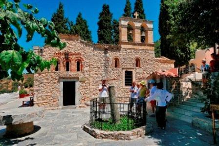 Монастырь Кера Кардиотисса на Крите