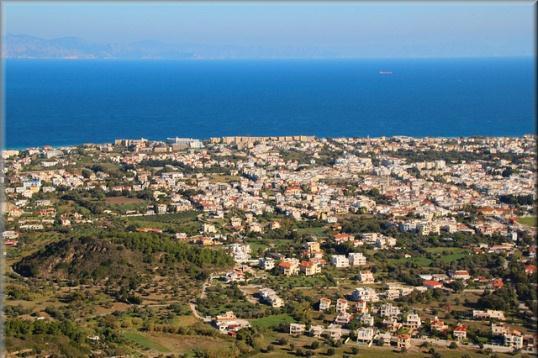 Вид с горы Филеримос