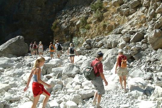 Пешие прогулки в ущелье Самария