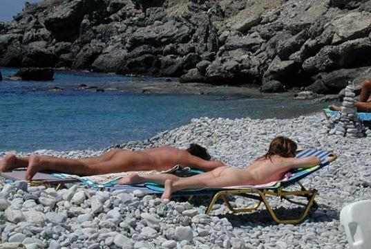 Пляж Филаки - один из лучших пляжей Крита