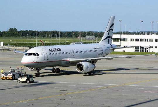 Основу авиапарка Aegean Airlines составляют Airbus