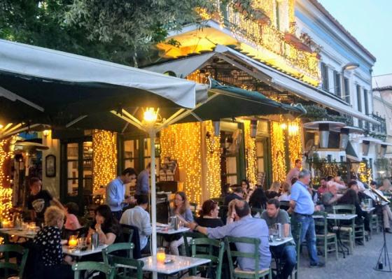 Цены в Афинах