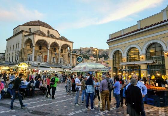 В 2017-м году Афины стали самым динамично растущим направлением на Airbnb