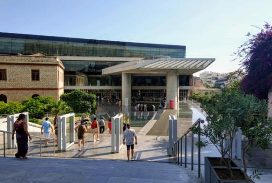 Цены на билеты в Музей Акрополя - одни из самых низких