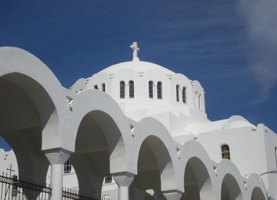 Главный Собор Санторини - относительный новодел