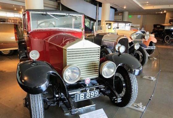 Hellenic motor museum, Афины